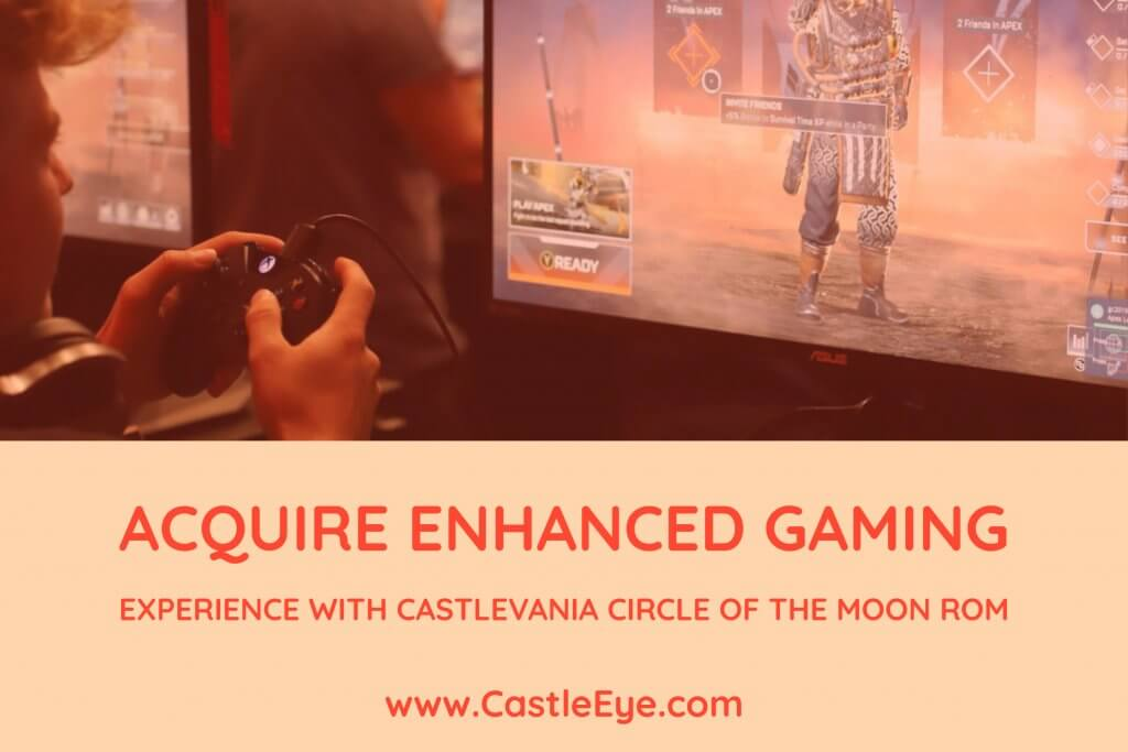 Acquire enhanced gaming experience with castlevania circle of the moon rom